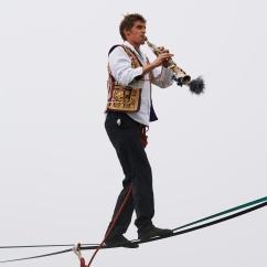 Nicolas Pouchards Saxophoniste funambule